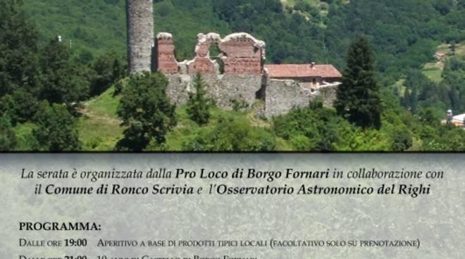 X Serata sotto le stelle al Castello di Borgo Fornari