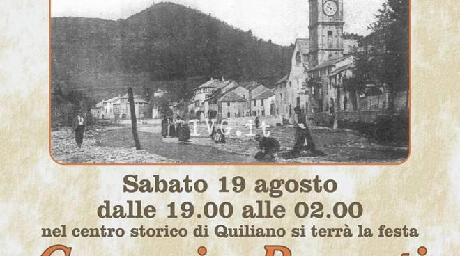 Grande successo a Quiliano per la manifestazione Caruggi e Recanti