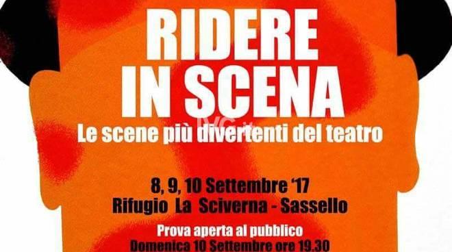 Dall\'8 al 10 settembre: Workshop Teatrale residenziale a Sassello