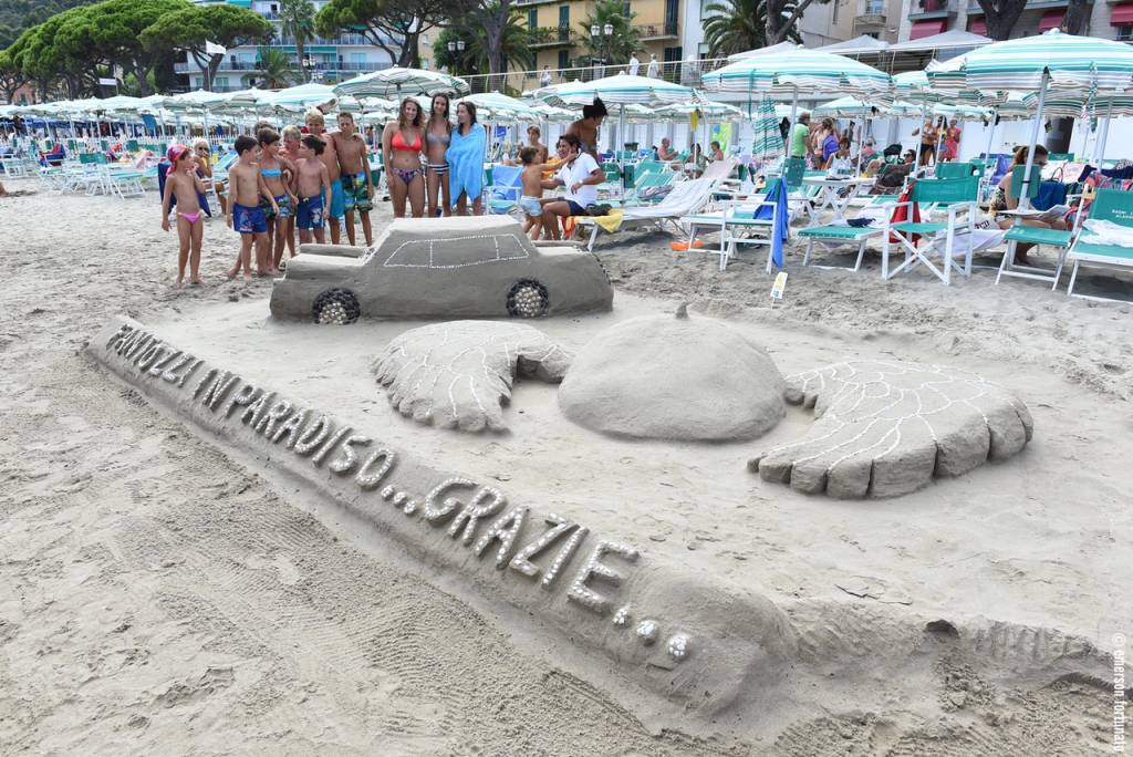 castelli sabbia alassio
