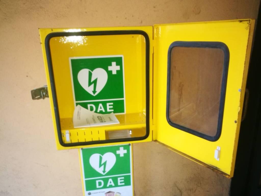 Furto Defibrillatore Loano