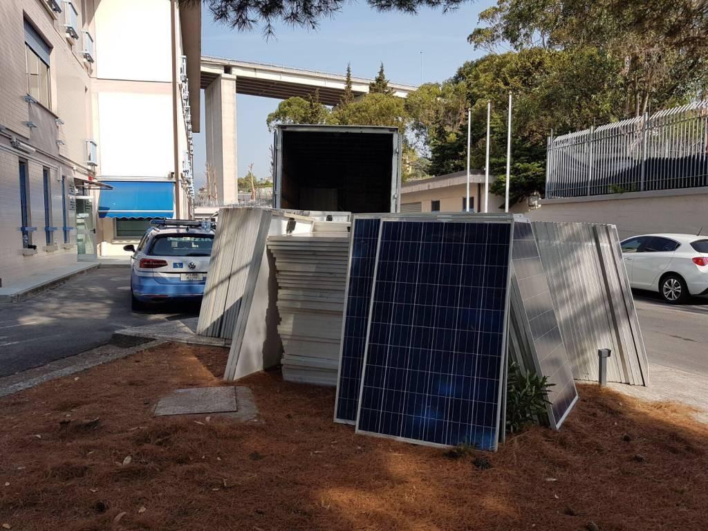 furto pannelli solari