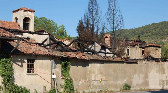 incendio monastero millesimo