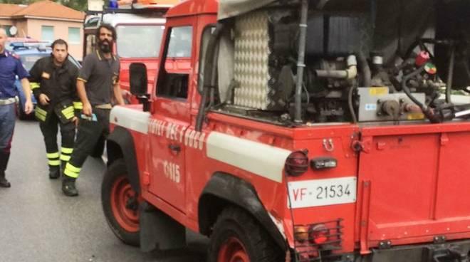 incidente vigili del fuoco