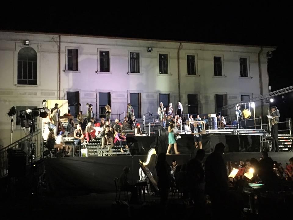La Turandot all'ex Acna di Cengio