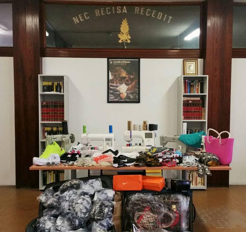laboratorio contraffazione centro storico