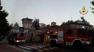 Millesimo, a fuoco l'ex monastero