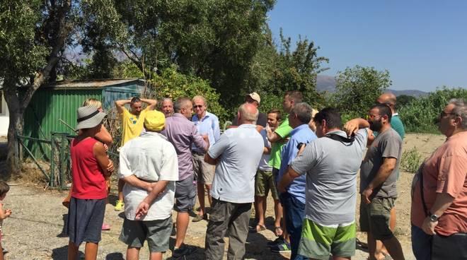 """Profughi ad Albenga, incontro """"bollente"""" tra i residenti e la cooperativa"""