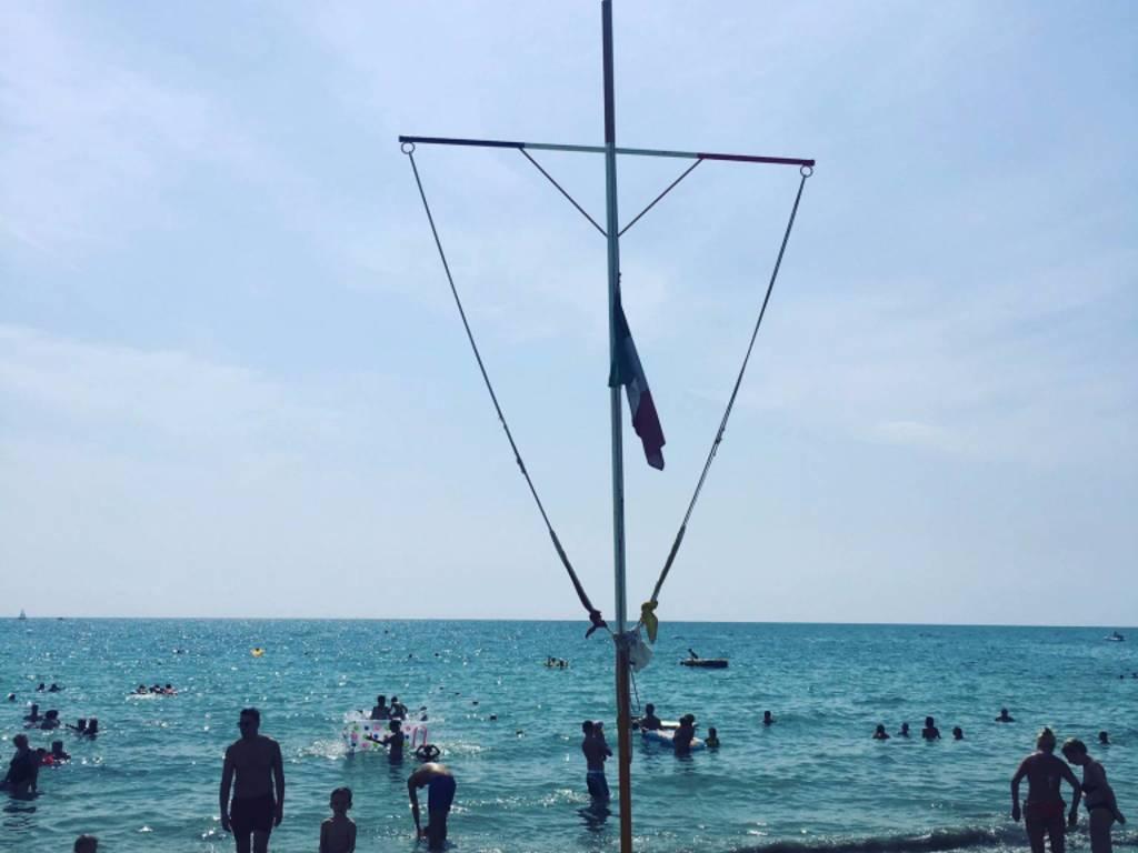 Bandiera Mezz'asta Bigio Ricci