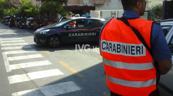 Alassio, controlli dei carabinieri in città