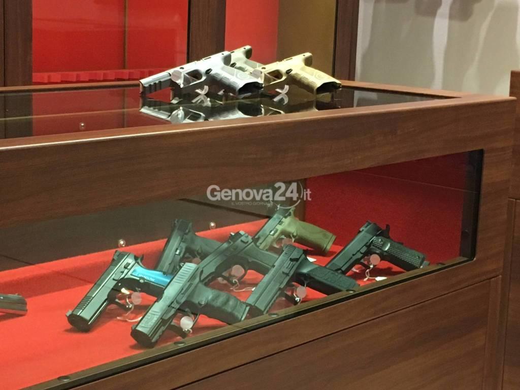 armi negozio la contea