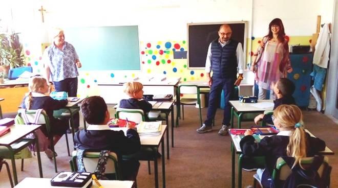 Borghetto Santo Spirito, il sindaco fa visita alle scuole