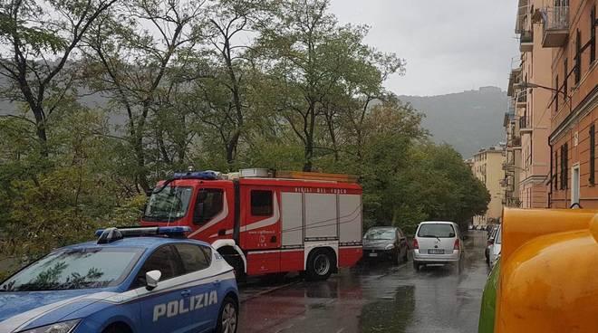Genova, trovato un cadavere a Oregina