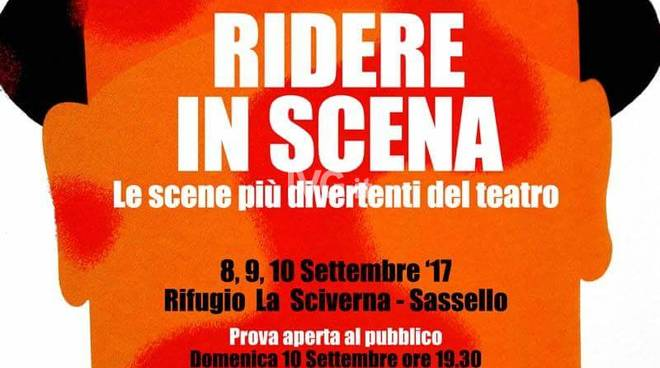 Domenica sera a Sassello: appuntamento conclusivo del workshop teatrale Ridere in scena