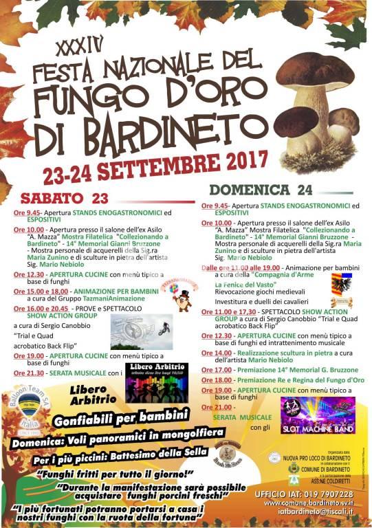 XXXIV Edizione della Festa NAzionale del Fungo D\'Oro