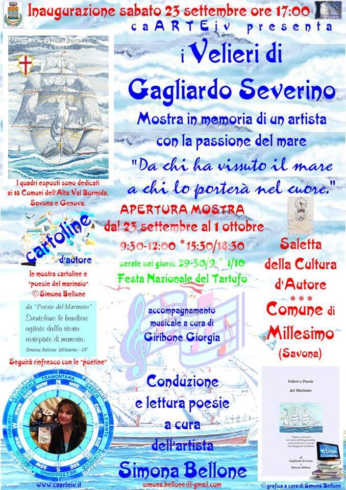 Velieri di Gagliardo Severino in mostra