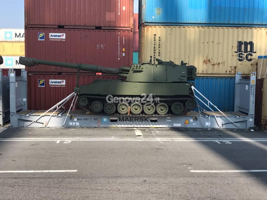 carri armati obici M109L