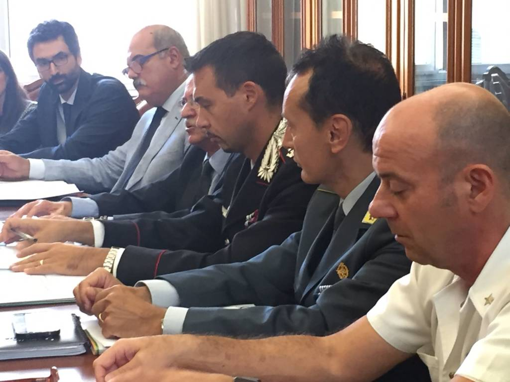 comitato  sicurezza prefettura
