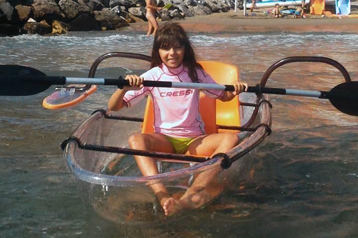 crystal kayak laigueglia