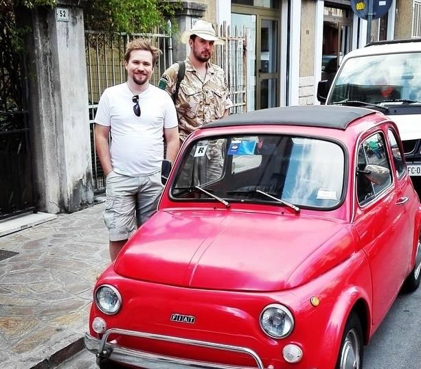 Fiat 500 fratelli polacchi