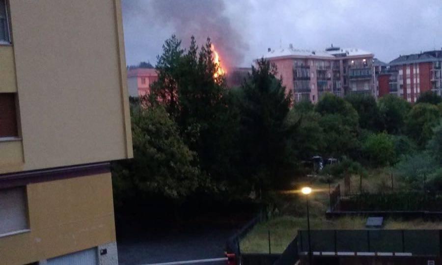 incendio albisola