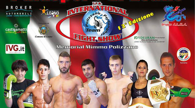 International Fight Show a Loano