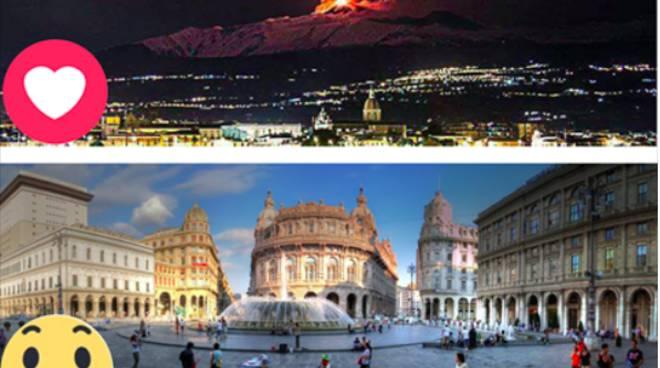 Su Facebook è Genova la città più bella d'Italia