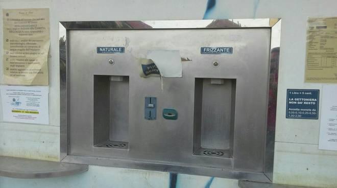 Loano lista civica LoaNoi casetta dell'acqua
