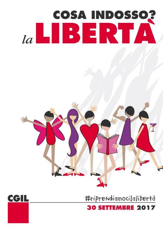 Manifestazione violenza donne Riprendiamoci la libertà! CGIL