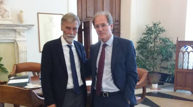Graziano Delrio Paolo Emilio Signorini