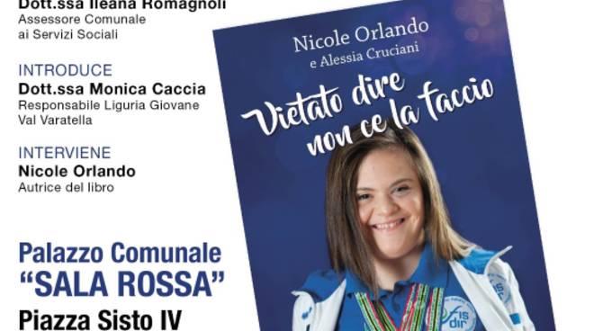 Presentazione libro Nicole Orlando Savona Sala Rossa