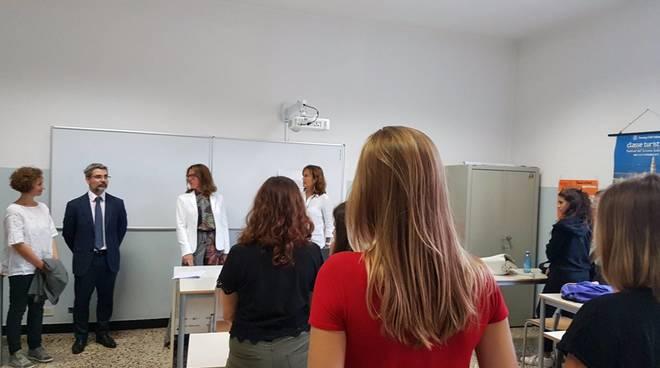 Primo giorno scuola montale