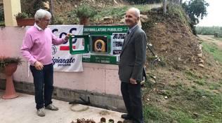 Quiliano donazione defibrillatore associazione Ancos Confartigianato