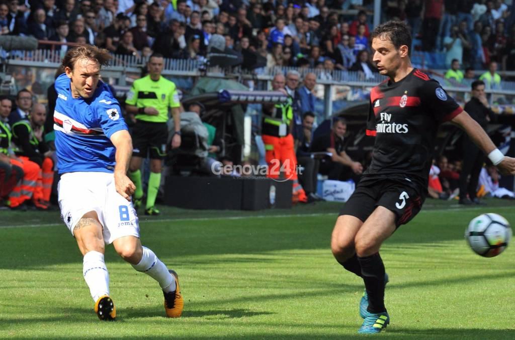 Sampdoria Vs Milan Serie A