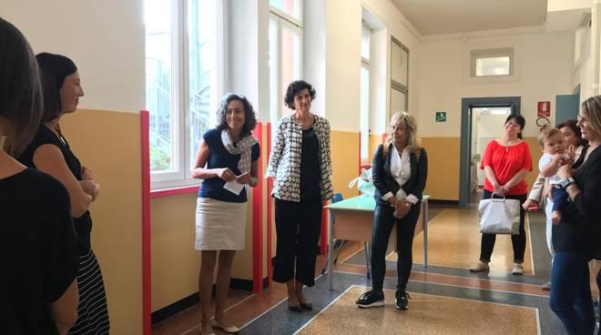 Savona Caprioglio Romagnoli visita scuole Astengo