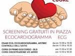 Varazze screening gratuiti piazza Bovani