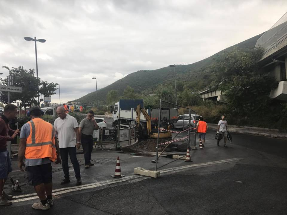 Toirano Lavori collegamento acquedotto Borghetto