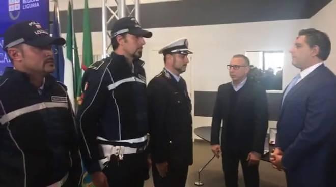 Regione Premiazione Vigili Savona