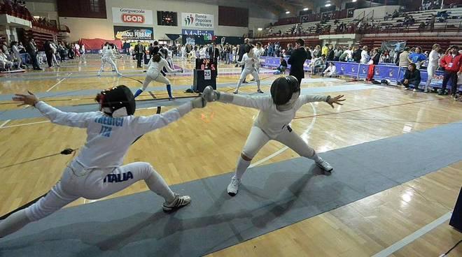 a Novara la prima prova nazionale di spada