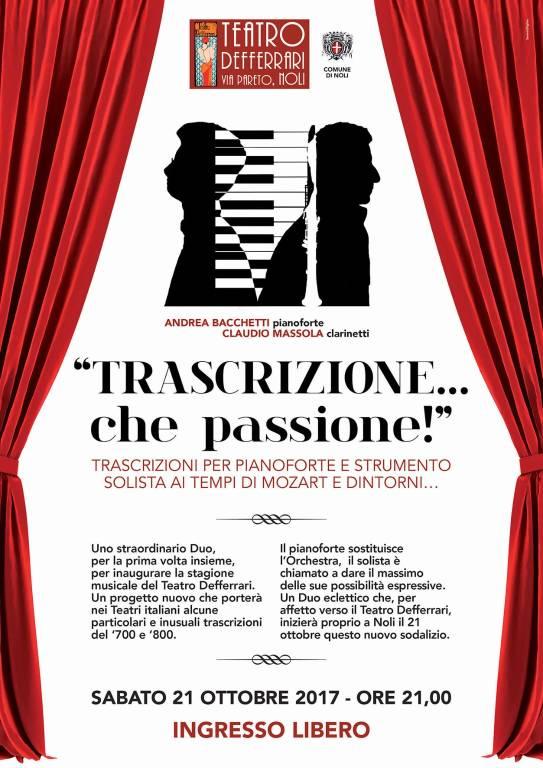 Andrea Bacchetti Claudio Massola concerto