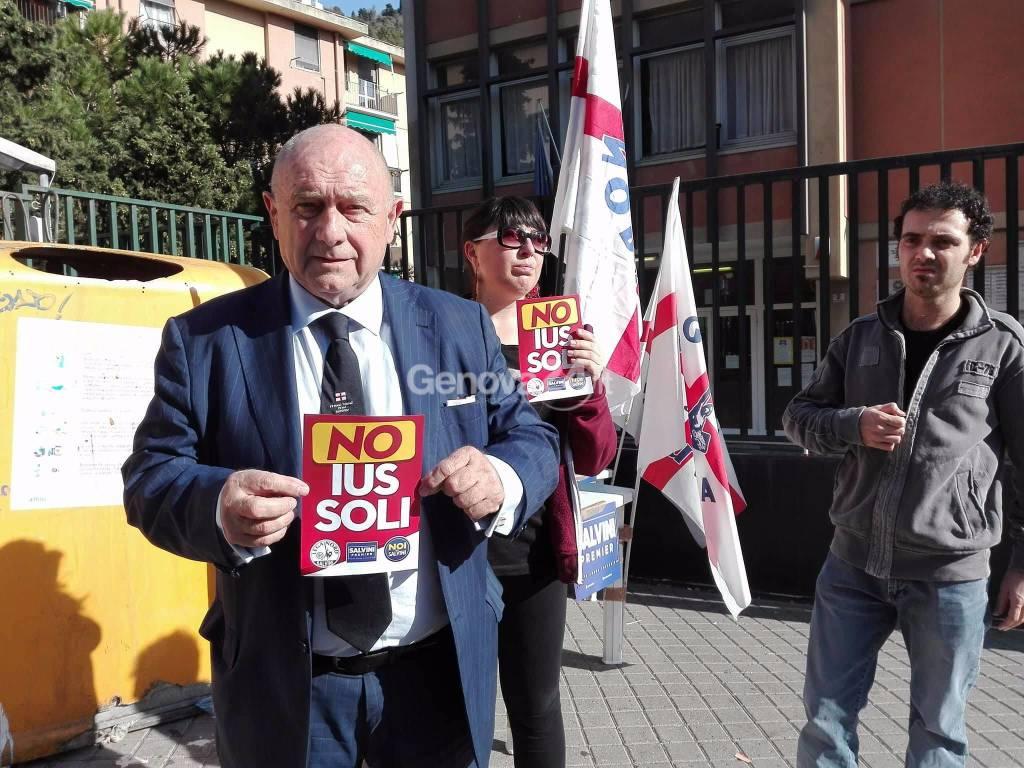 No ius soli Lega Nord