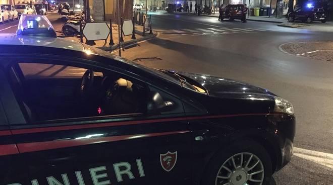 carabinieri albenga notte