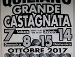 Nel week-end grande castagnata alla AMS Fratellanza  Quilianese