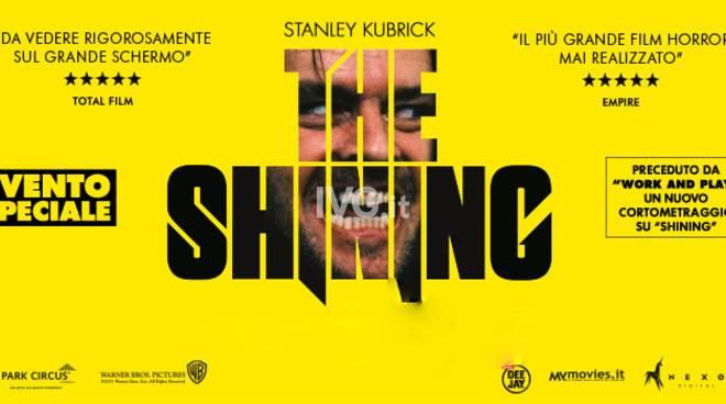 Evento Speicale Halloween  al NuovoFilmStudio di Savona: proiezione di Shining (The Shining)