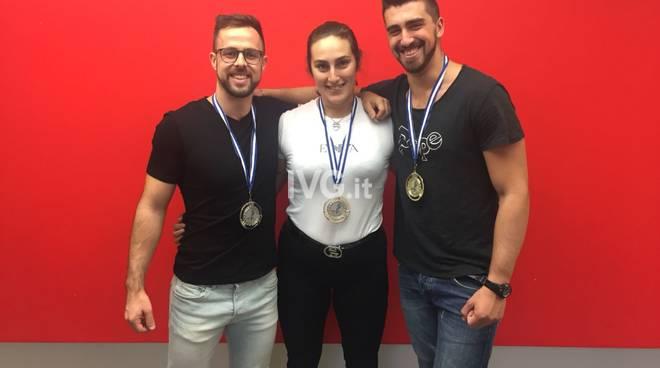 3 atleti finalesi sul podio al mondiale di KETTLEBEL in Grecia!