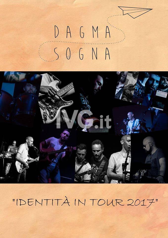 Stasera al Circolo Chapeau  Famagosta di Savona: DAGMA SOGNA LIVE - Tanto di Chapeau!