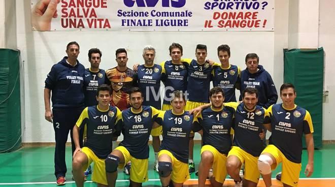 Volley Team Finale: doppio 3 a 0 per i ragazzi del la serie C targata AVIS