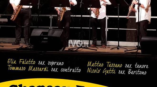 Domenica sera al Circolo ARCI Chapeau Famagosta di Savona: S4x0Ph0n3 Quartet