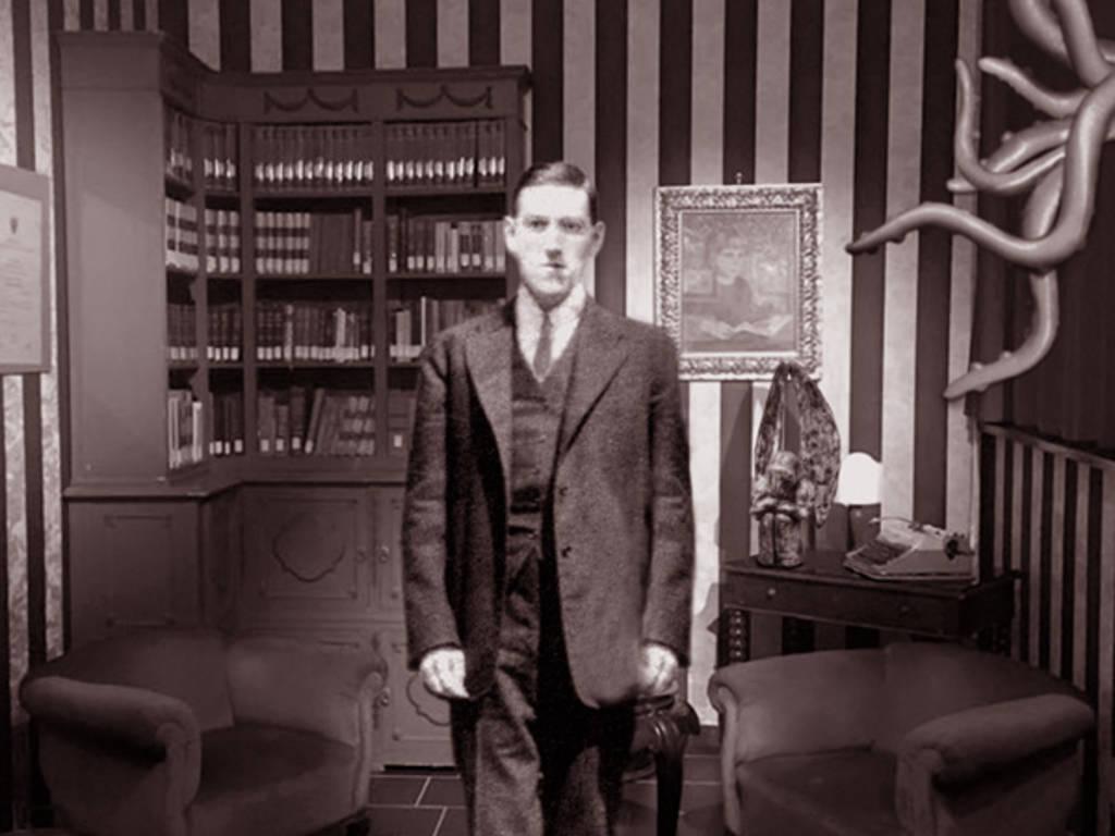 H.P. Lovecraft in mostra a Serra Riccò