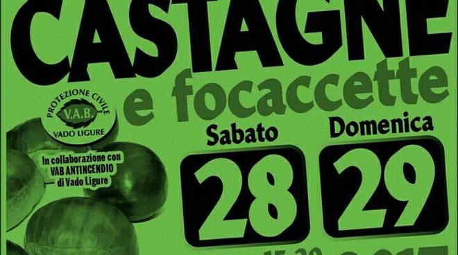 Castagne e focaccette a Valle di Vado Ligure